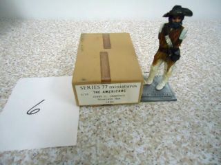 77 Americans Series Lead Toy jerry c crandall mountain man 1830 A 16