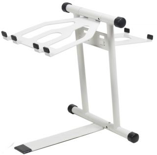 CRANE HARDWARE CRANE STANDARD LAPTOP STAND WHITE DJ CD PLAYER TRAKTOR
