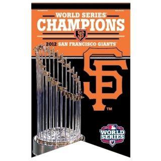 2012 World Series Champions San Francisco Giants Premium Felt Banner
