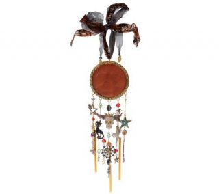 Kirks Folly Seaview Moon Limited Edition Halloween Windchime