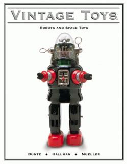 Vintage Robot and Space Toys Book Ray Gun