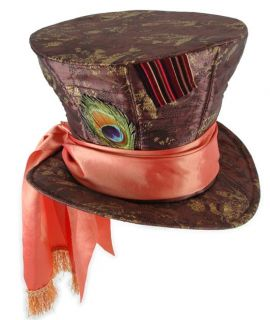 Disney Alice in Wonderland Mad Hatter Adult Costume Hat