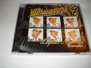 Los Huracanes Del Norte Legado Norteno Corridos CD Usado 3 Veces Las