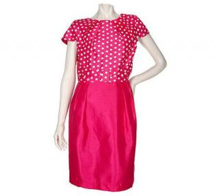 SC by Sara Campbell Polka Dot Dress with Bow Detail —