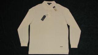 75 Daniel Cremieux Classics Cotton Long Sleeve Polo Shirt Large