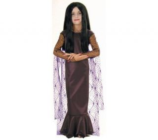 The Addams Family Morticia Child Costume —