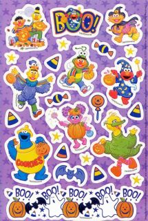 American Greetings Sesame Street Abby Cadabby Elmo Big Bird Halloween