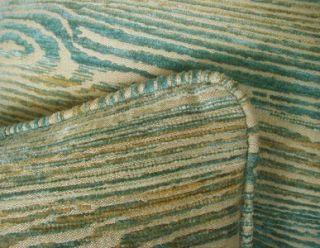 Old World Weavers Chenille Velvet Custom Designer Throw Pillows Pair