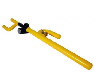 The Club Steering Wheel Lock   Yellow —