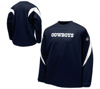 NFL Dallas Cowboys Recycled Sideline Fleece Crew —