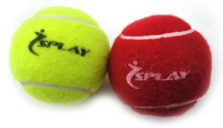 Yellow Indoor Outdoor Cricket Tennis Balls Ball Solid Hard