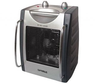 Optimus H 3015 Portable Utility Heater with Thermostat   H364277