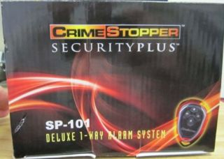 101 Universal Car Alarm Security System Crime Stopper SP101 New