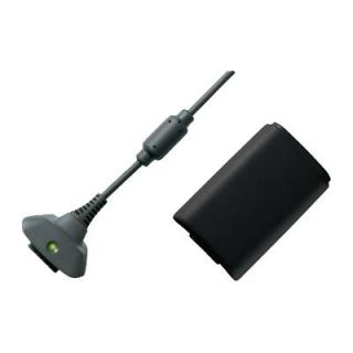 Xbox 360 Play Charge Kit Wireless Controller Charger
