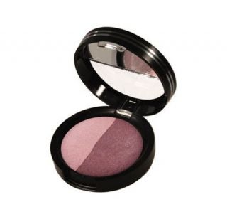 Laura Geller Baked Eyeshadow Duo in Pink Souffle/Plum Tart —