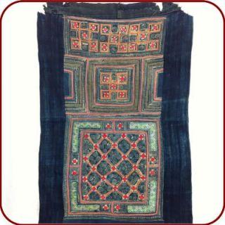Vintage Textile Piece of Baby Carrier Cotton Batik Patch Work