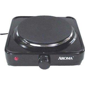 Burner Portable Electric Hot Plate Cooking Heat Small Cookware