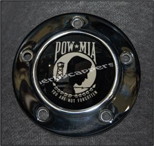 Designer Timer Cover Harley Davidson Points Timing Cover Custom Unique