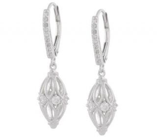 Tacori IV Diamonique Epiphany HarlequinDesign Earrings —