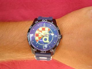 Dinamo Zagreb Croatia Wrist Watch Football Soccer Bad Blue Boys