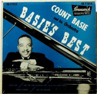 count basie basie s best 1953 45 rpm ep