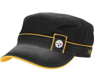 NFL Pittsburgh Steelers Womens Military Hat —