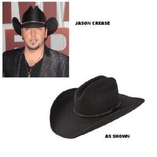 Resistol®Asphalt CowboyBlackpalm Straw Cowboy Hat