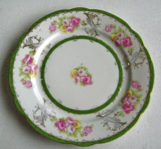 Imperial Crown China Austria Plate Beautiful Roses