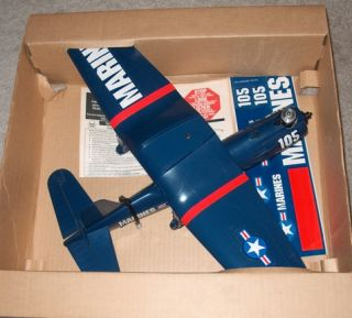 Cox Corsair Control Line Model Airplane New in Box 9000