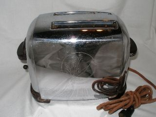 Vintage Generall Electric Pop Up Toaster 1939 Working