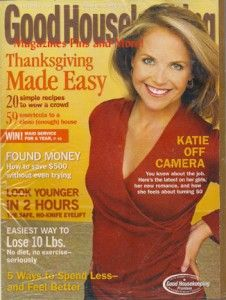 good housekeeping magazine november 2006 still in plastic mailer
