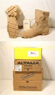USGI Military Army Coolmax Desert Tan Combat Boots Sizes 4 14 $146 USA