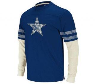 NFL Dallas Cowboys Vintage Jersey & Thermal Long Sleeve Tee —