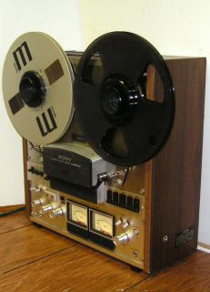 Sony TC 758 TC758 Open Reel to Reel Tape Recorder Nice