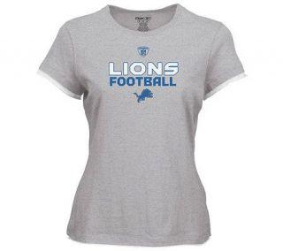 NFL Detroit Lions Womens Plus Size Gemini TooT Shirt —