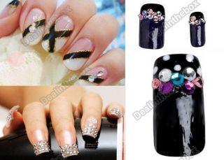20000 Pcs Decoration 2mm Flash Clear Crystal Glitter Rhinestone Nail