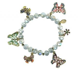Kirks Folly Butterfly Beauty Stretch Bracelet   J300987
