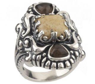 Carolyn Pollack Sterling Durango Gemstone Ring —