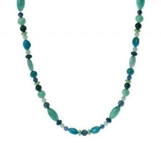 Carolyn Pollack Changing Seasons Sterling 19 Bead Necklace   J266712