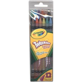 Crayola Twistables Colored Pencils 12 Count