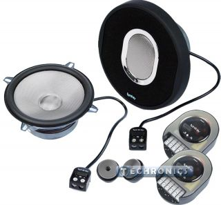 50 9CS 5 25 450W Max 2 Way Component Car Audio Speakers System