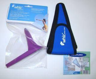 Whiz Female Urine Director Urinary Device Belt Loop Bag