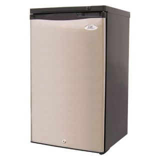 Sunpentown UF 311S Energy Star 3 Cubic Foot Upright Freezer Stainless