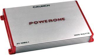 New Crunch P110501 1000W Monoblock Car Audio Amplifier Amp 1000 Watt