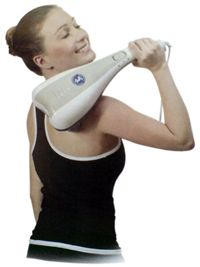 Dual Pro Power Vibration Massager Therapy Muscle Reflex