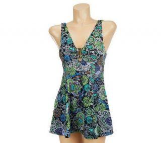 Fit 4 U Cs Fresh Paisley Ring Dress —