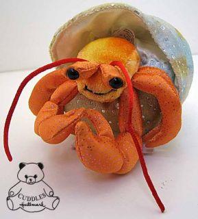 Henry Hermit Crab Douglas Plush Stuffed Animal Shell SM