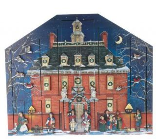 WilliamsburgHom Byers Choice Governors Palace Advent Calendar