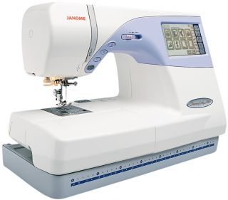 Janome Memory Craft 9500 Sewing and Embroidery Machine 732212108785