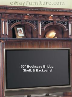 Barcelona Library Corner Bookcase Wall Unit Home Office Furniture